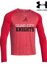 Under Armour QC Area Knights Under Armour Novelty Long Sleeve-Red