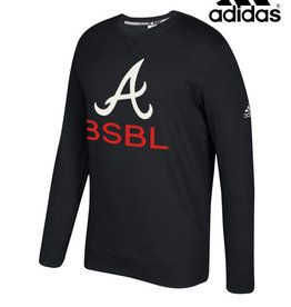 Adidas QC Area Knights adidas Fleece Crewneck Sweatshirt-Black