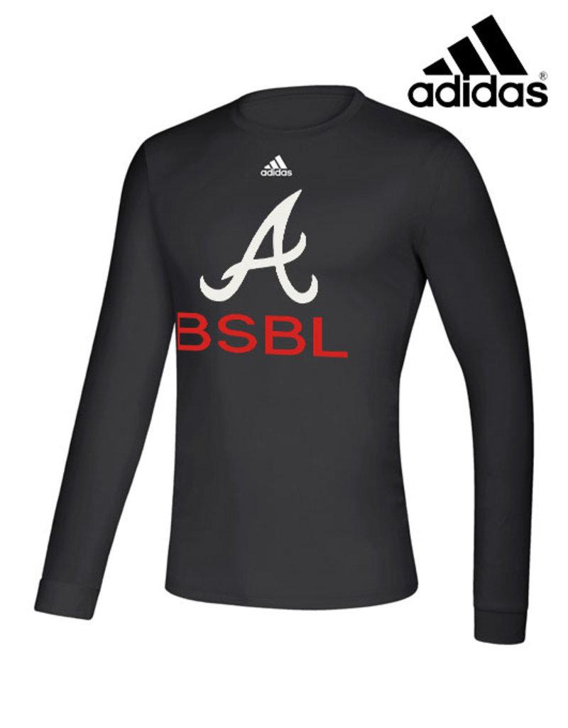 Adidas QC Area Knights adidas Creator Long Sleeve Tee-Black