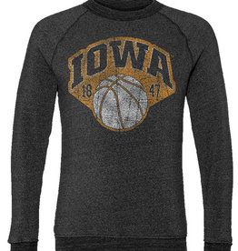 Rah-Rah Clothing Vintage Iowa Basketball 1847 Crewneck Sweatshirt