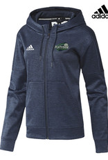 Adidas Platform Elite Liquid Embroidered adidas Women's Team Issue Full Zip Hood-Navy