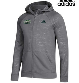 Adidas Platform Elite Liquid Embroidered adidas Electric Full Zip French Terry Hoodie-Grey