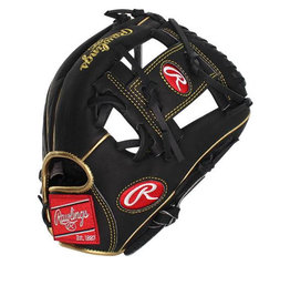 "Rawlings Rawlings Heart of the Hide dual core leather 11 1/4"" Pro Taper baseball glove  Right hand throw"