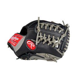 "Rawlings rawlings Gamer 11.5"" Infield/Pitcher Glove Black/Grey"
