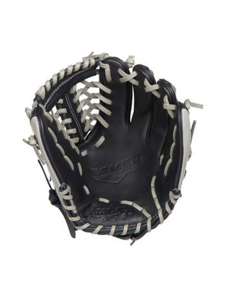 "Rawlings rawlings Gamer 11.5"" Infield/Pitcher Glove Black/Grey"