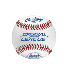 Rawlings Rawlings High School Raised Seam Cushion Cork Center Leather Baseball - Single Ball