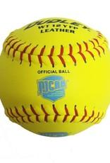 Dudley Dudley NJCAA Thunder Heat Leather Cover Softball (Dozen)