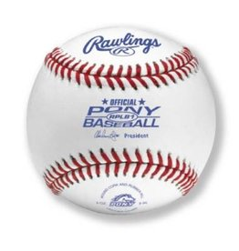 Rawlings Rawlings Official Pony League competition Baseball-Dozen