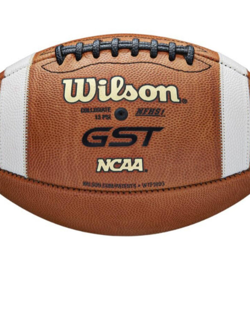 Wilson Wilson GST  Official NCAA & NFHS Leather Game Football