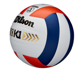 Wilson Wilson K1 Gold Leather Volleyball (NFHS)