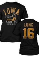 Rah-Rah Clothing Iowa Hawkeye Greatness-Chuck Long Short Sleeve Tee