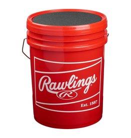 Rawlings Temples/Rawlings Baseball Bucket with 2 Dozen