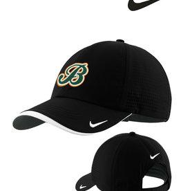 Barnstormers Nike Dri-FIT Swoosh Perforated Adjustable Cap-Black