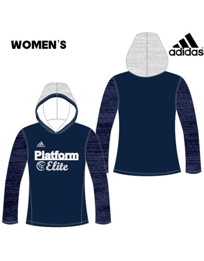 Adidas Platform Elite Adidas Custom Women's Lightweight Loose Fit Training Hood