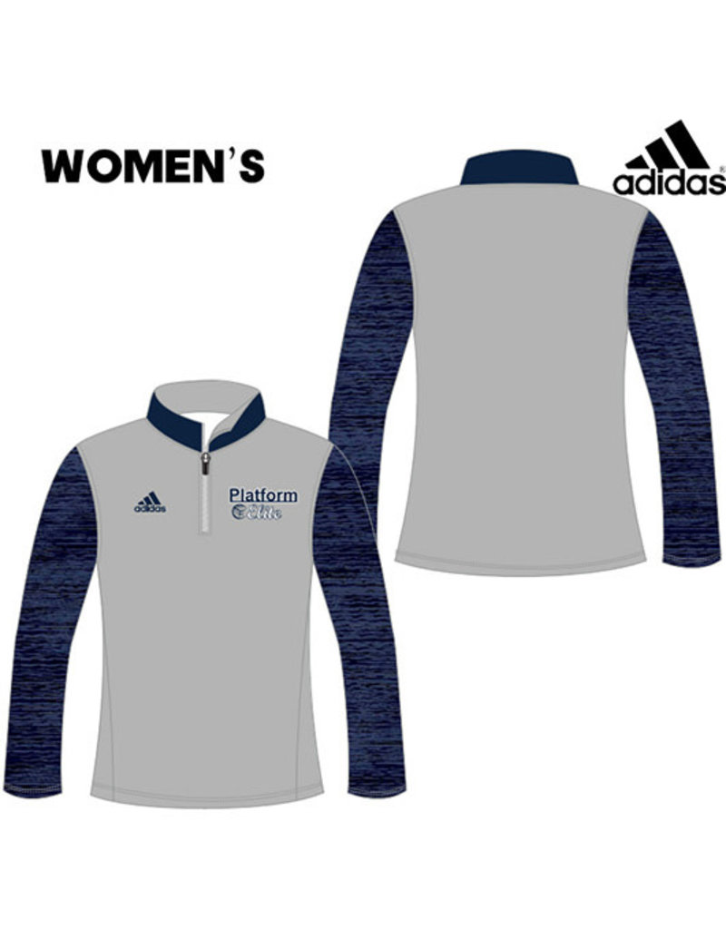 Adidas Platform Elite Adidas Custom Women's Lightweight Loose Fit 1/4 Zip