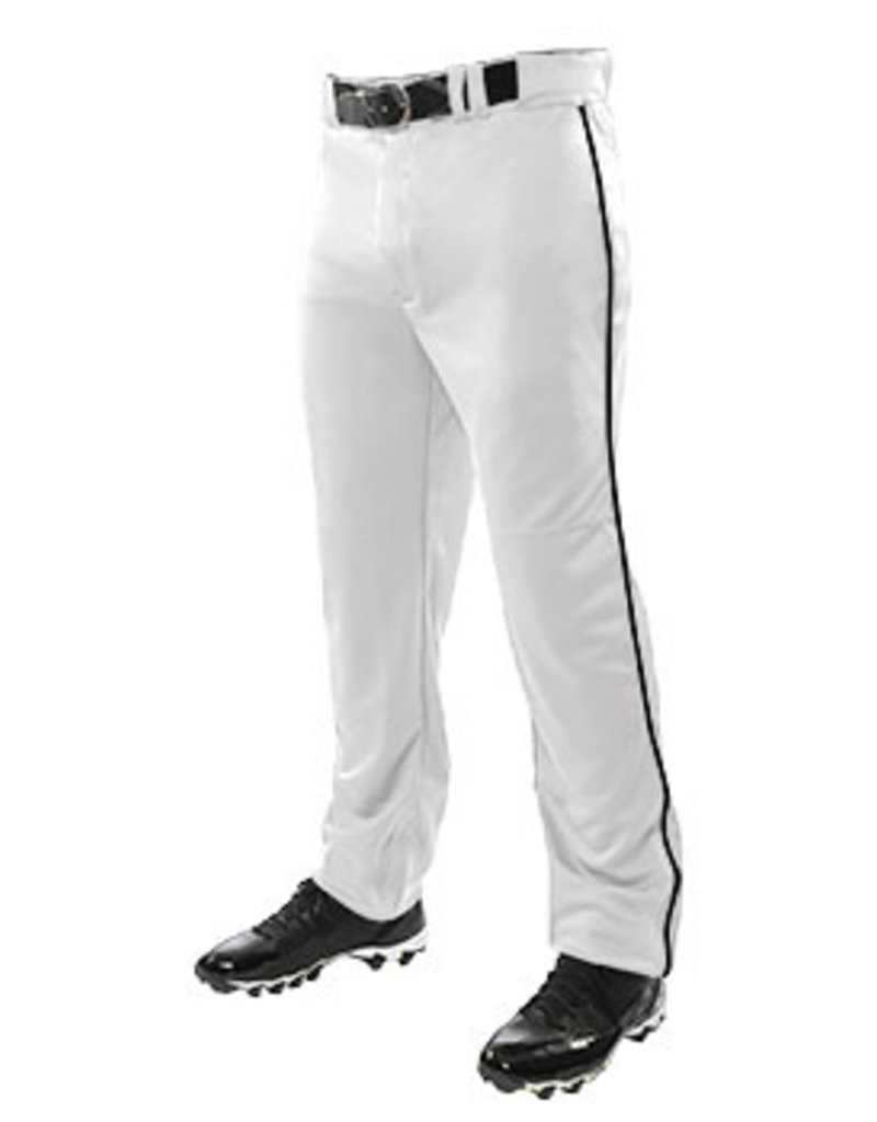 Champro Triple Crown Open Bottom Pant with Piping-Adult