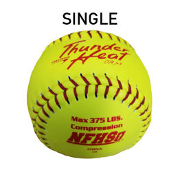 "Dudley Dudley NFHS Composite Leather 12"" Softball Single Ball (47/375 poly core)"