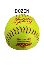 "Dudley Dudley NFHS Composit Leather  12"" Softball (Dozen) (47/375 poly core)"