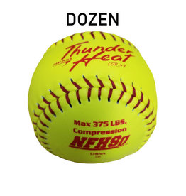 "Dudley Dudley NFHS Composit Leather  12"" Softball (Dozen) (47/375 poly core)"