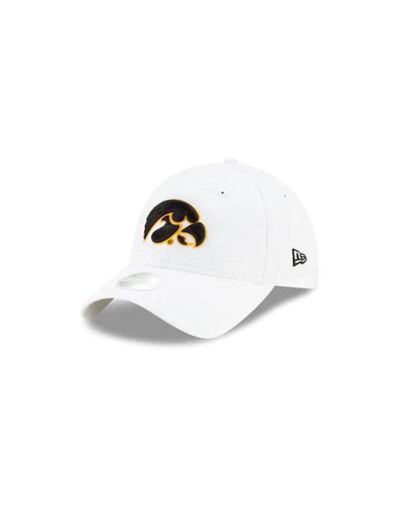 "New Era New Era Iowa Hawkeye ""9Twenty Core"" White Front Caps-One Size"