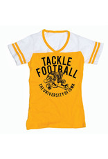 Rah-Rah Clothing Vintage Herky Tackle Football Ladies' Jersey Tee