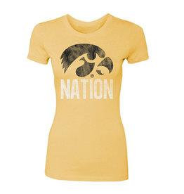 Rah-Rah Clothing Hawkeye Nation Ladies Perfect Tee