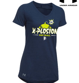 Under Armour PV X-Plosion Under Armour Women's Stadium T-Navy