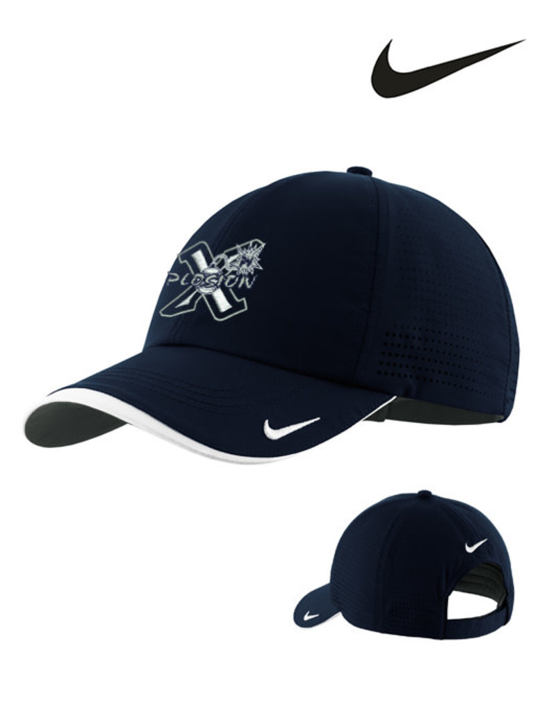 Nike PV X-Plosion Nike Dri-FIT Swoosh Perforated Cap-Navy