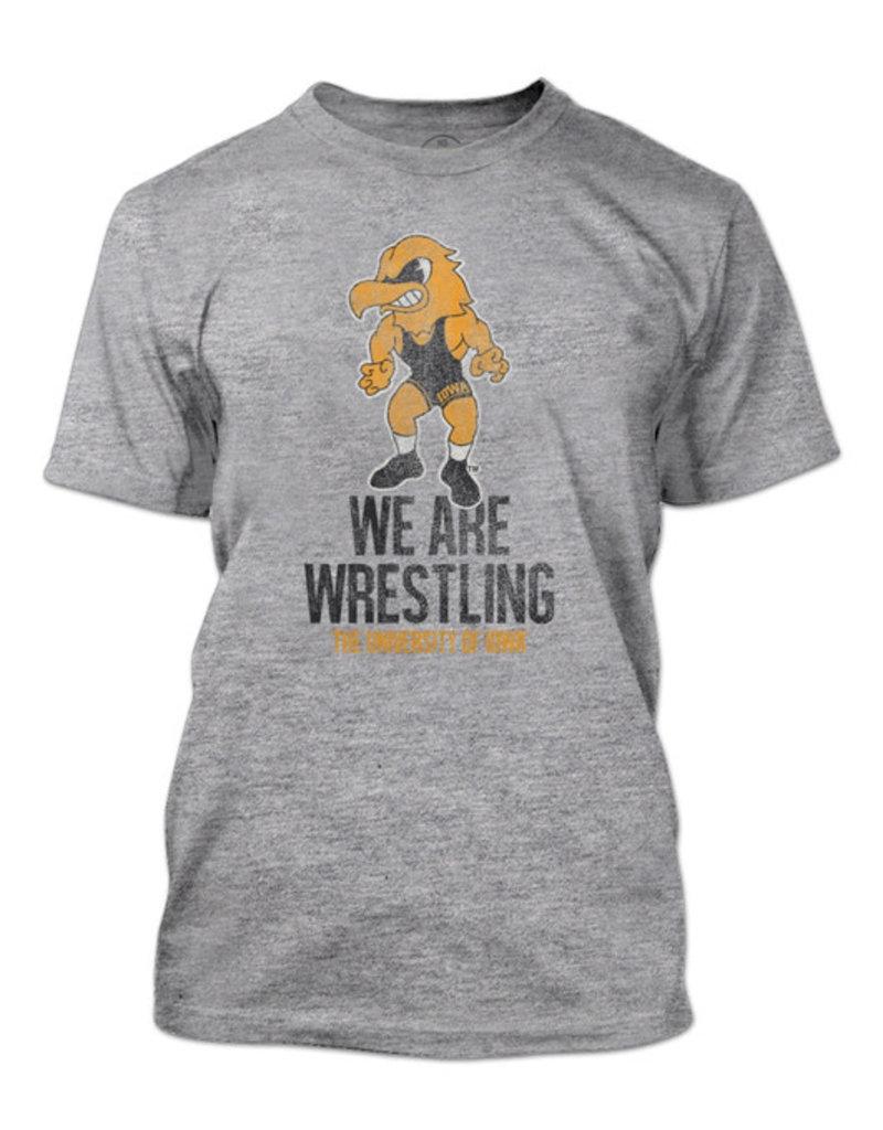 Iowa We Are Wrestling Short Sleeve Tee