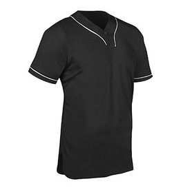Champro HEATER 2-BUTTON PIPED BASEBALL JERSEY