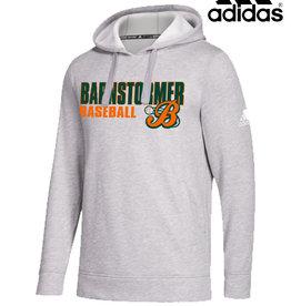 Adidas Barnstormer Baseball adidas Fleece Hood-Grey