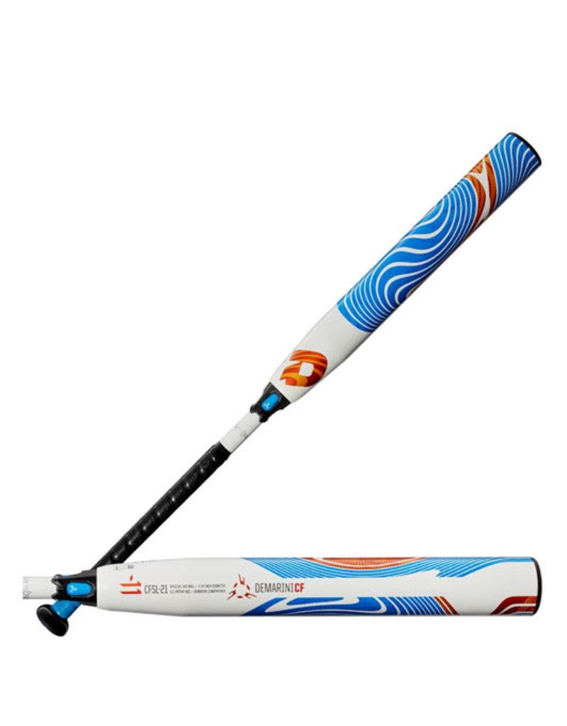 "DeMarini DeMarini 2021 CF Zen Fast Pitch softball bat (-11) 33""X22oz"