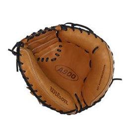 "Wilson Wilson A900 34""  Catchers Mitt  British Tan--  Right hand throw"