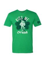 Rah-Rah Clothing Iowa State Kiss Me I'm Iowish Short Sleeve Tee