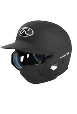 Rawlings Rawlings mach One-Tone Matte Helmet with Ext Flap for Right Hand Batter