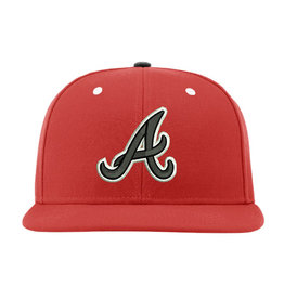 QC Area Knights Limited Edition Richardson Fitted Cap-Red