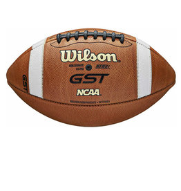 Wilson Wilson GST Official NCAA and NFHS Leather Game Football Retail Boxed