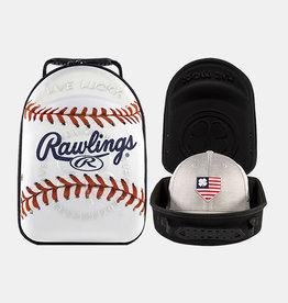 Rawlings Rawlings Baseball Hat/Cap Caddy Neoprene Case- Holds 6 Caps and 1 Pair of Sunglasses