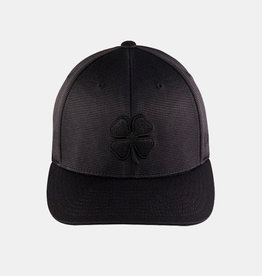 Rawlings Black Cover Blackout 3D Black Clover with Rawlings Patch Flex Fitted Cap
