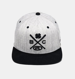 Rawlings Black Clover Baseball Is Life 3D Cross Bats with Rawlings Patch Snap Back Cap