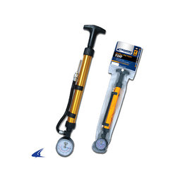 """Champro 10"""" Dual Action Pump with Pressure Gauge"""
