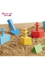 Melissa & Doug Melissa & Doug Sandblox 7-Piece Sand Shaping Kit