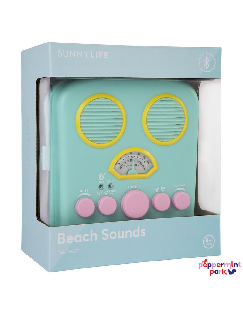 Sunny Life Beach Sounds Seafoam Radio