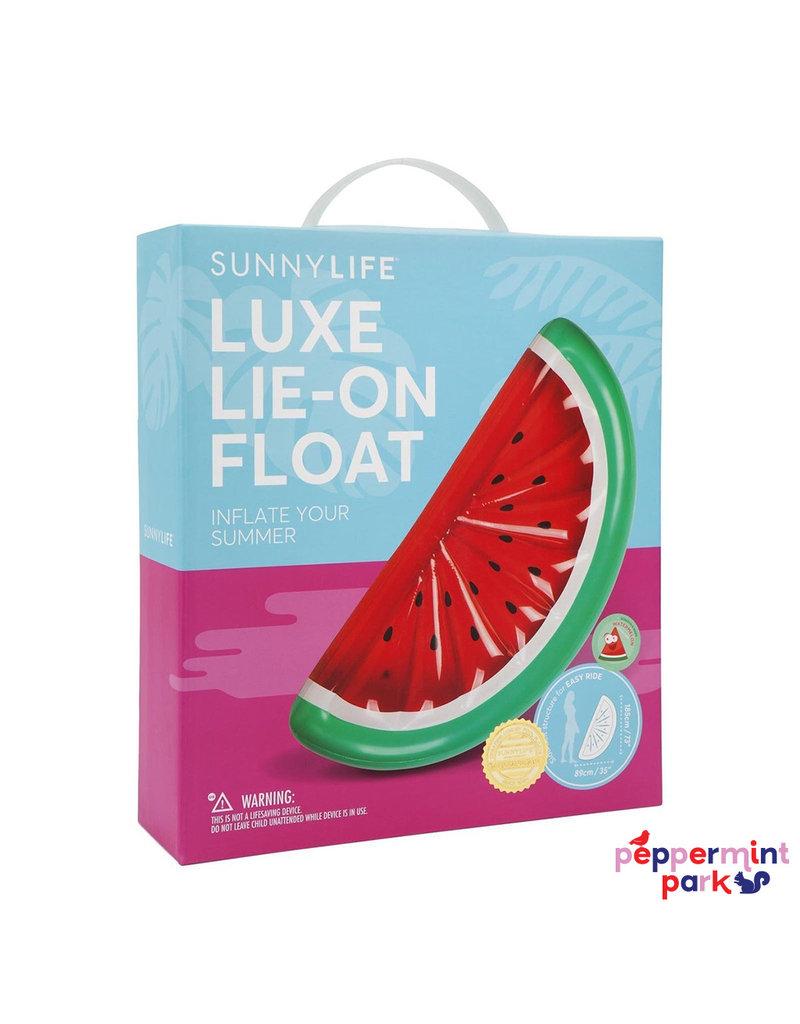 Sunny Life Lie On Watermelon Pool Float