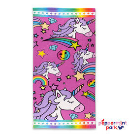 Top Trenz Unicorn Couture Beach Towel
