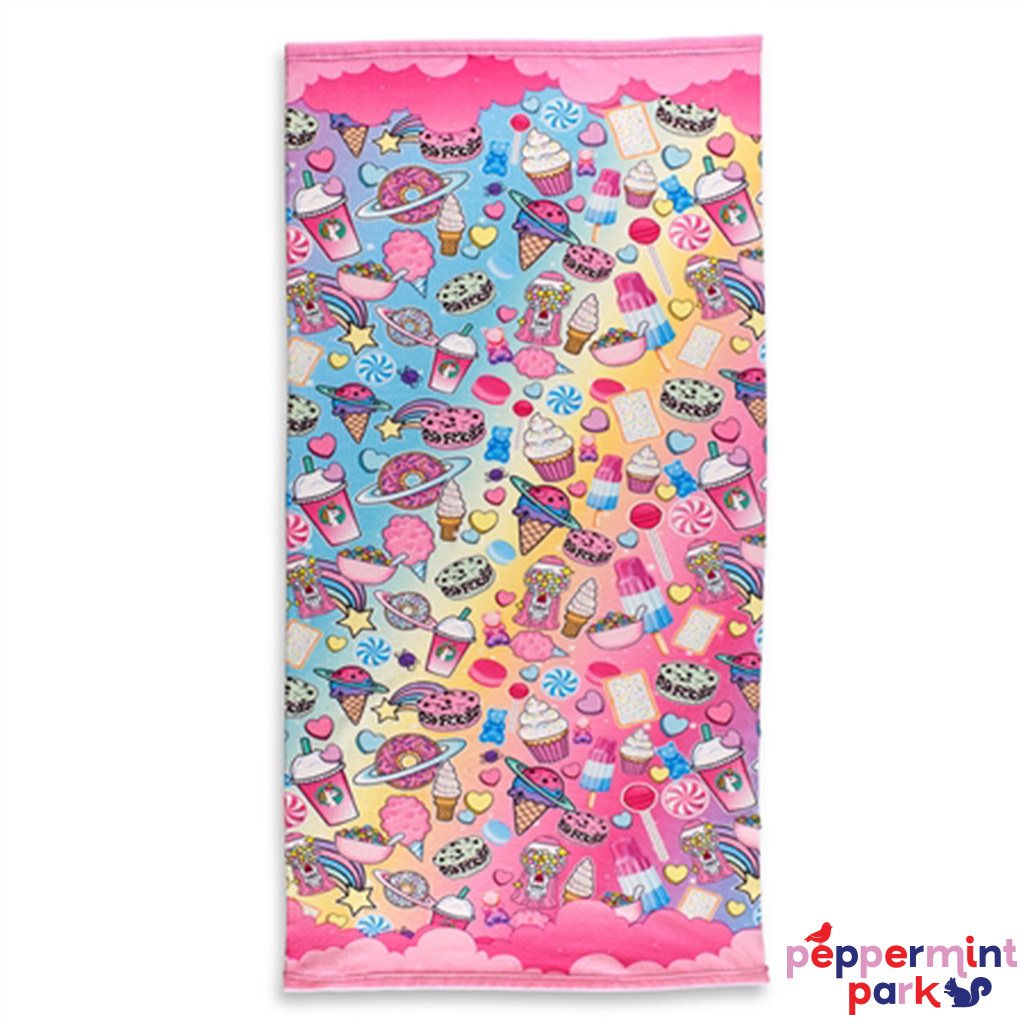 Top Trenz Planet Sweet Beach Towel
