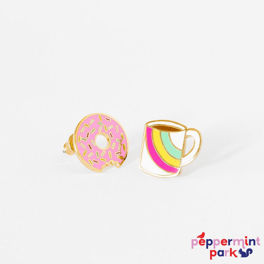 Yellow Owl Workshop Coffee & Donut Earrings