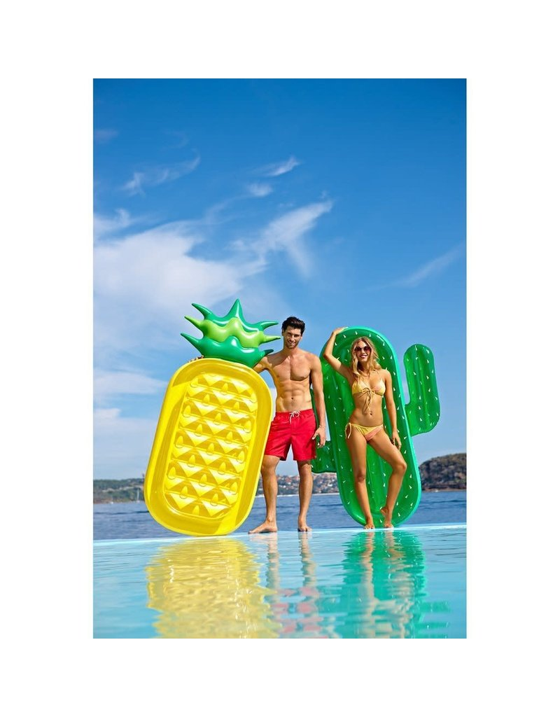 Sunny Life Luxe Lie On Pineapple Pool Float