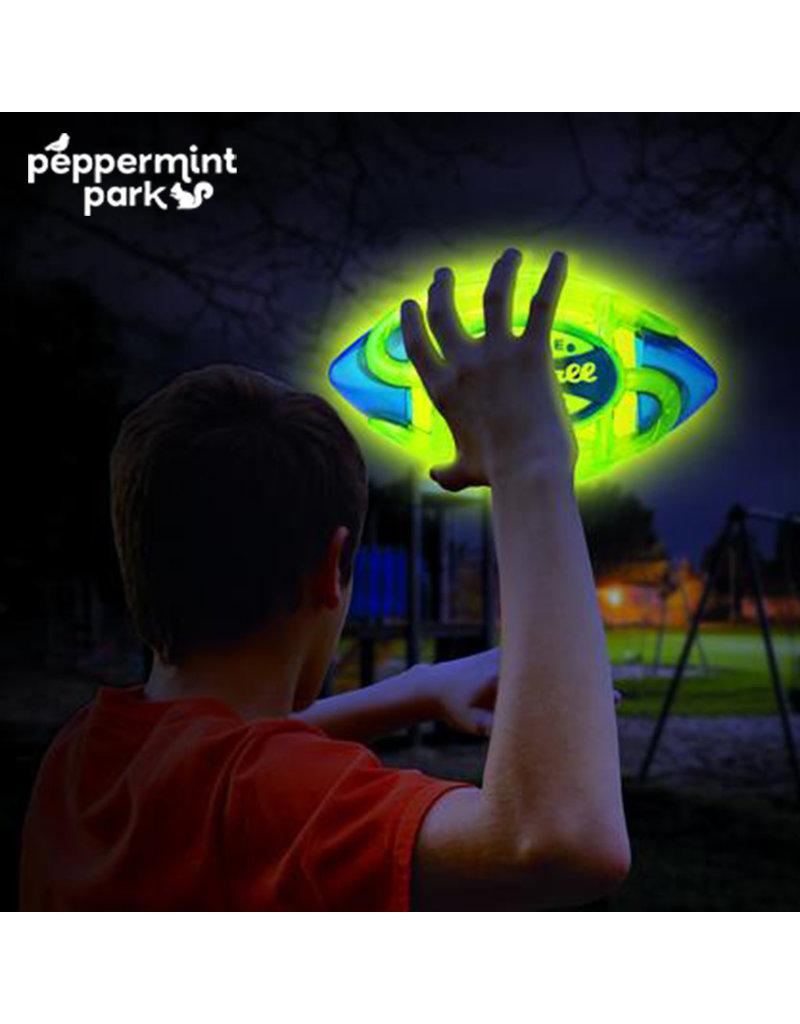Tangle Nightball Football Light Up Green