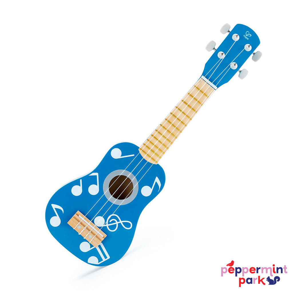 Hape International Blue Ukulele